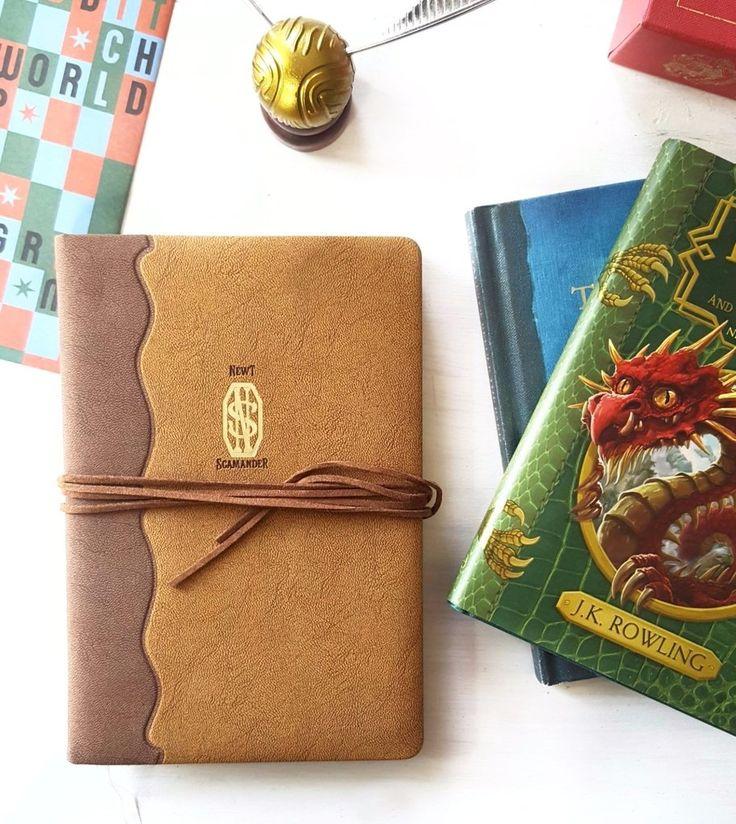 Newt Scamander journal #fantasticbeastsandwheretofindthem #niffler #newtscamander #macusa #jkrowling #hogwarts #harrypotter #potterhead #jkrowling #hufflepuff #ravenclaw #slytherin #nargles #gryffindor