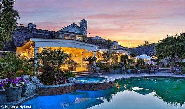 Luxurious estate: JLo has re-listed her three-acre property in HIdden Hills near Los Angel...