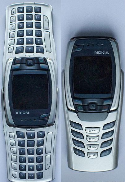 Nokia 6800 phone from Finland