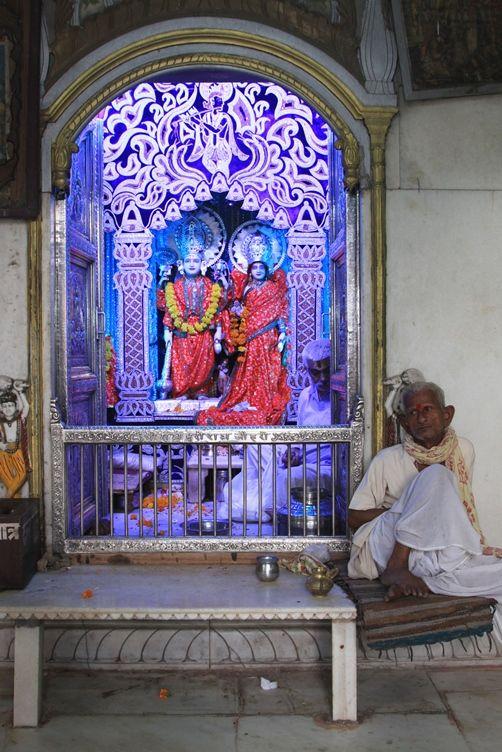 Interno Tempio Birla Mandir. Foto di Samuele Fracasso