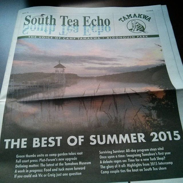 Got my South Tea Echo in the mail today and I caught the feels a little bit :( last summer was a great one. It's gonna be hard to top it. #tamakwa