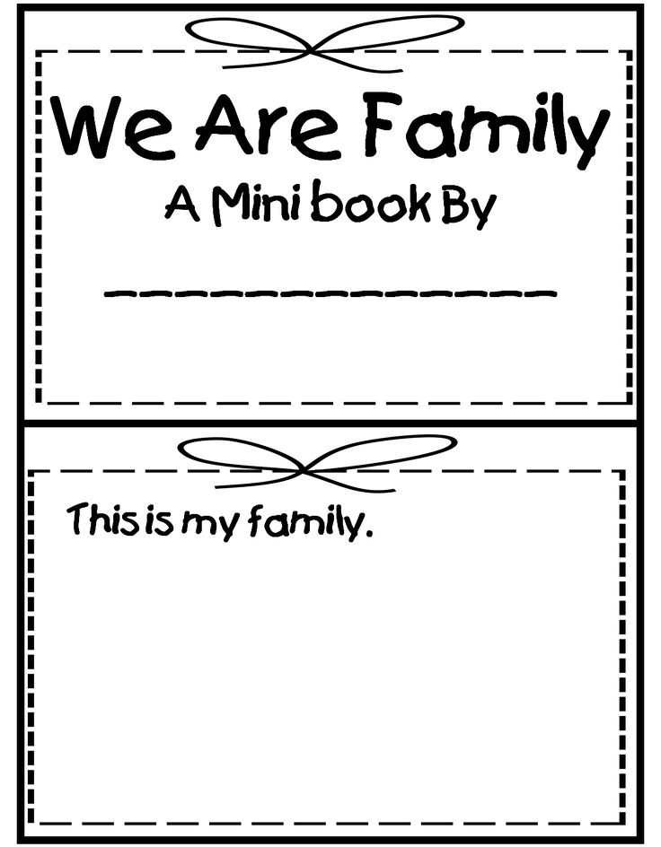 a family mini book - Buscar con Google