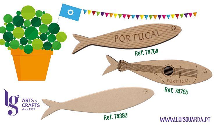 Junho é o mês dos santos populares!  Especialmente para esta época, desenhámos e cortámos a laser sardinhas que podem decorar a festa da sua terra!  Peça já..e divirta-se nos festejos dos Santos! -> http://www.luisguarda.pt/pt/Produtos/ARTES-DECORATIVAS/CORTES-LASER/DIVERSOS/PC150?PageId=8