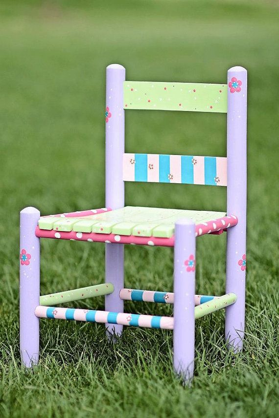184 Best Painted Chairs Images On Pinterest Chairs
