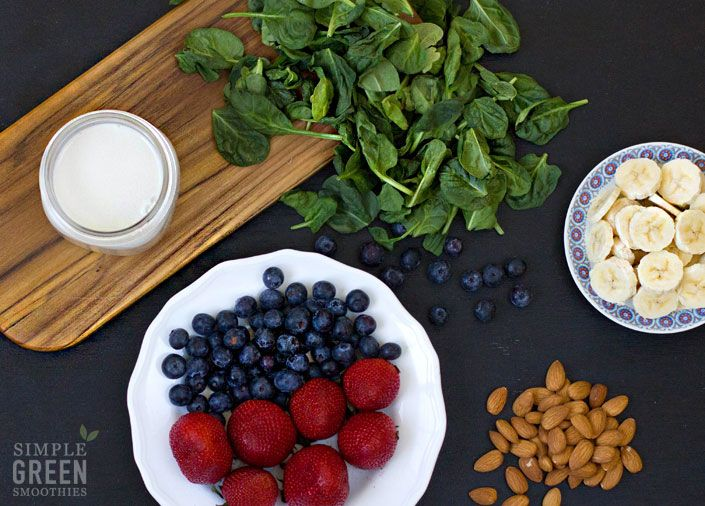 Berry Protein Bash - Simple Green Smoothies