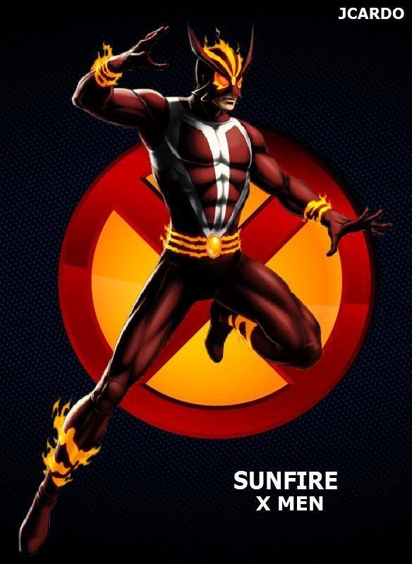 1000 images about xmen sunfire on pinterest adam