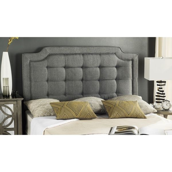 best 25 grey tufted headboard ideas on pinterest tufted bed glam bedroom and grey bedrooms. Black Bedroom Furniture Sets. Home Design Ideas