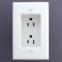 these are great!: Good Ideas, Dreams Houses, Wall Outlets, Built In, Electric Switch, Note To Self, Great Ideas, Recessed Outlets, Allowance Furniture