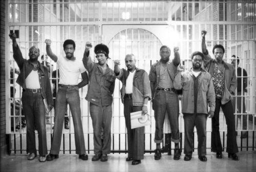 seven black panthers in jail, san francisco (1970) photo: gordon parks via: the gordon parks foundation #blackhistory