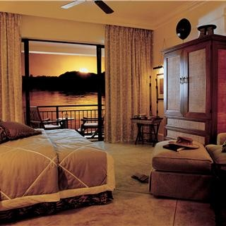 At the five-star Royal Livingstone Hotel, you can expect nothing short of extraordinary. This luxury accommodation is located near Victoria Falls and is renowned for impeccable service, stunning accommodation and historical significance that makes it more than a hotel.