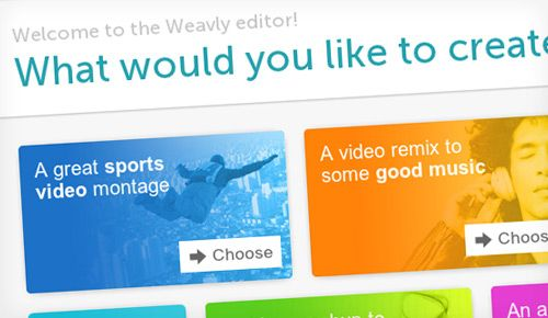 Weavly for Educators and Students Weavly EDU is an easy to use and free video and music mixing web app designed for classroom use.