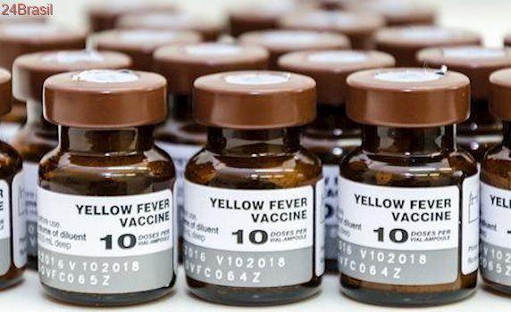 Ministério da Saúde recomenda apenas uma dose de vacina contra febre amarela
