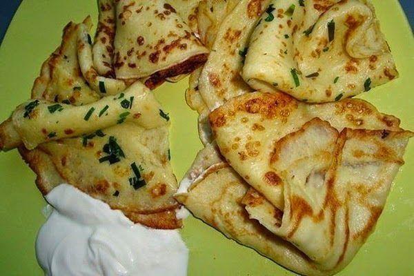 Рецепты Вкусных Домашних Блюд: Вкусные тонкие картофельные блины
