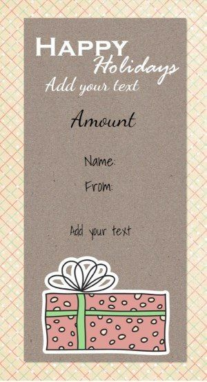 52 best Christmas Gift Certificates images on Pinterest Free - how to create a gift certificate in word