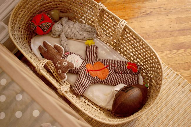 Perfect palette for a baby boy nursery (from Lena Corwin)
