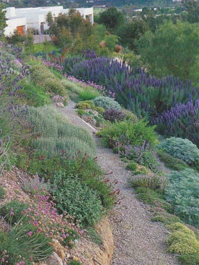 Top 49 ideas about front yard slope on pinterest gardens for Hillside landscaping
