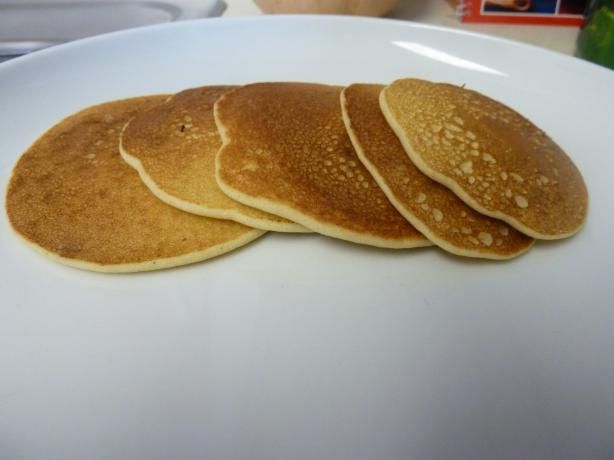Rice Flour Pancakes from Food.com:   Very easy pancake recipe that is gluten free and good for people that are lactose intolerant   My husband is very picky and he really enjoyed.  We enjoyed with real maple syrup! Batter is a bit thick, but very filling!    I am always looking for recipes using rice flour.