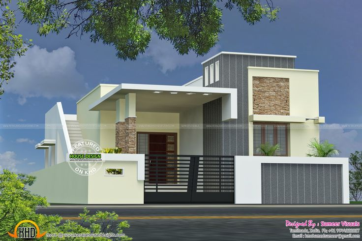 Single Floor House With Plan In 2020 Kerala House Design