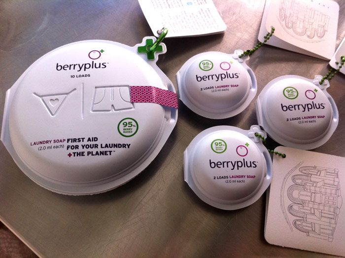 Berry+ packaging designed by The Moderns