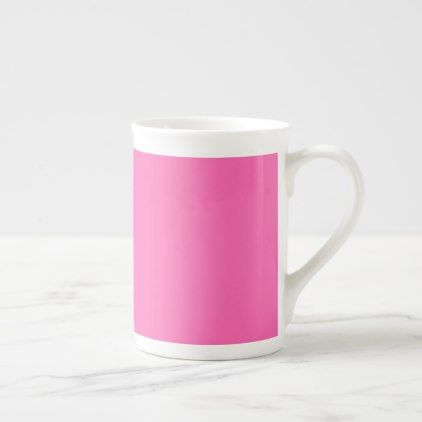 Hot Pink Tea Cup - home gifts ideas decor special unique custom individual customized individualized