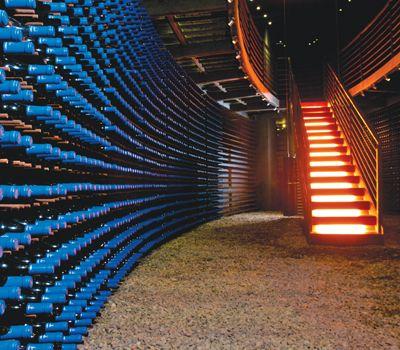 Casa Lapostolle's Clos Apalta Wine Cellar
