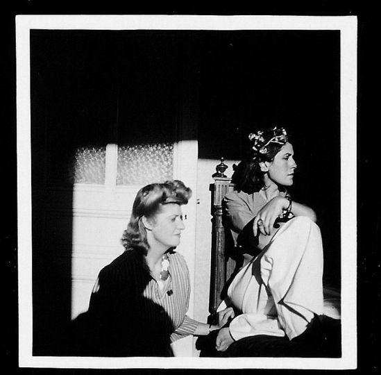 Dora Maar Autoportrait avec Jacqueline Lamba, (collection André Breton)vers 1938