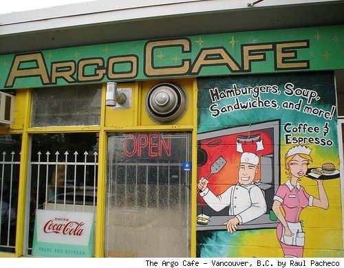 The Argo Cafe- Nestled in an in Industrial Vancouver