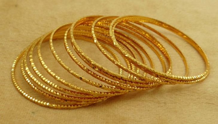 Indian Traditional #Wedding Bracelet Gold plated 12PC #Bangles