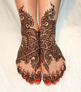 Mehandi Henna for Feet