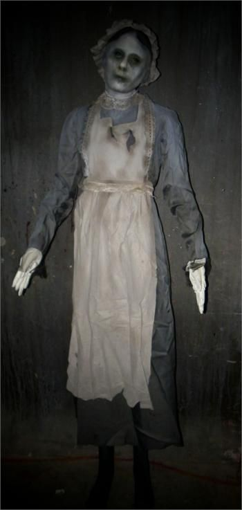 THE GHOSTLY MAID - Full Size Haunted House Prop