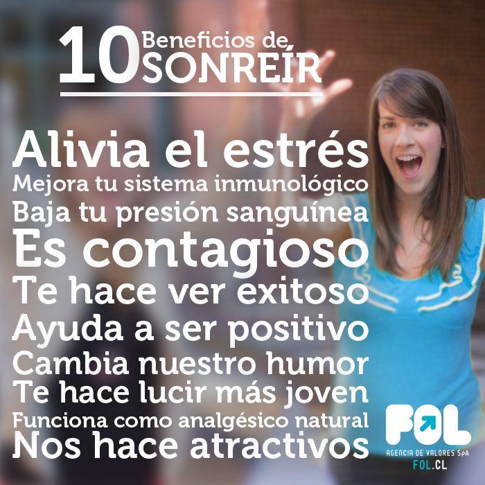 10 Beneficios de Sonreir