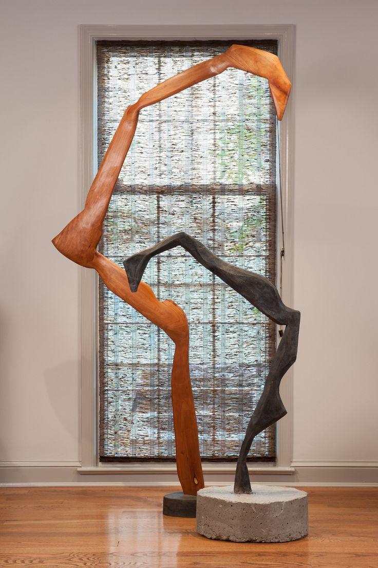 Cast Wood Art : Origami cranes wood cast iron and concrete