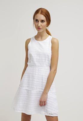 Zomerjurken GAP Korte jurk - optic white wit: € 69,95 Bij Zalando (op 15-4-16). Gratis bezorging & retournering, snelle levering en veilig betalen!