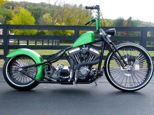 Custom Built Motorcycles Bobber | eBay