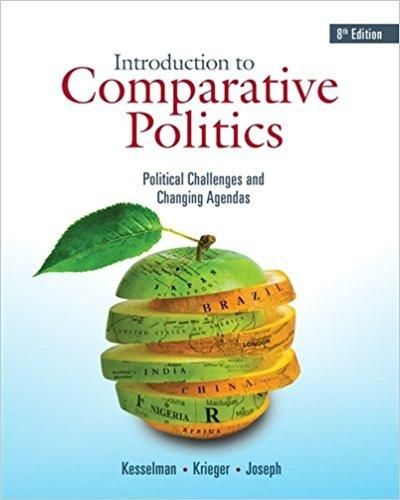 Introduction to Comparative Politics: Political Challenges and Changing Agendas 8th Edition by Mark Kesselman ISBN-13: 978-1337560443