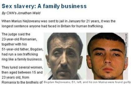 Traficant a fost condamnat la 21 de ani de închisoare, cea mai lungă pedeapsă înregistrată până acum.