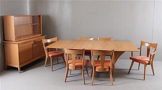lot 4165 heywood wakefield cadence dining room suite