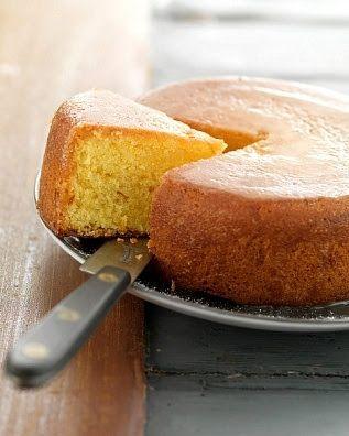 torta de naranja esponjosa