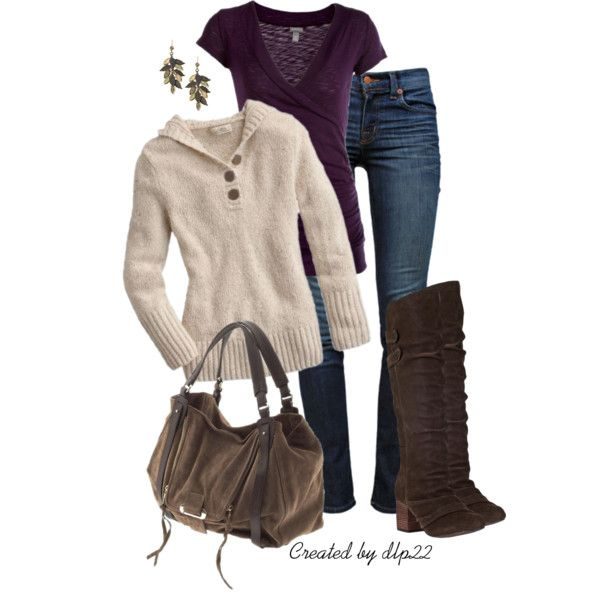 Autumn Jeans by dlp22 on Polyvore