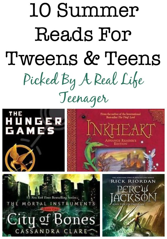 Here's a list of 10 summer reads for tweens and teens compiled by my teenage daughter, who has read every single line of each of the books she's recommending. In fact, most of them are series and she's read the majority of the books in each of the series she's recommending as well. If your teen or tween is looking for something they'll enjoy check these out. #ad