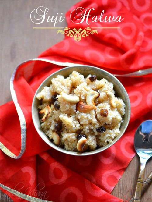 Sooji (Suji) Ka Halwa   Semolina Pudding  Simple, Easy and popular Indian sweet/dessert, perfect for any occasion, celebration or to satisfying your sweet cravings.