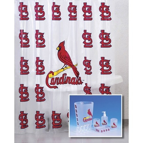 Championship Home Accessories St Louis Cardinals 7 Piece Bath Set Baseball Pinterest
