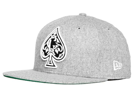 Crooks-and-Castles-New-Era-Monogram-Spades-59Fifty- · Fitted CapsFitted ... 23059af30414