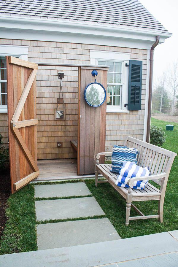 Outdoor Shower HGTV Dream home