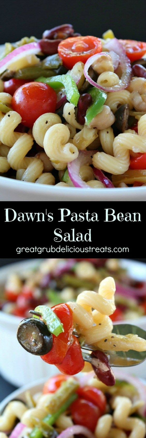Dawn's Pasta Bean Salad                                                                                                                                                      More