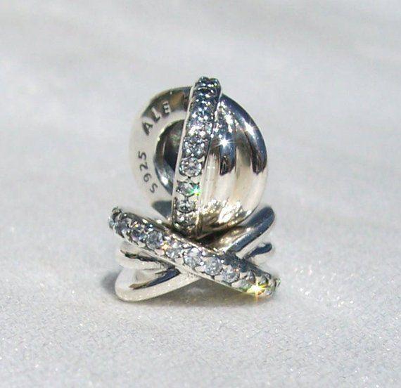 4866367ae Pandora, Charms, Galaxy Spacers, Bracelet Charm, 2 Charms, Celestial,  Sterling, CZ, 925 ALE, Two Spacers, Gift Ideas, 791662CZ, #925Ale #Pandora  #CZ ...