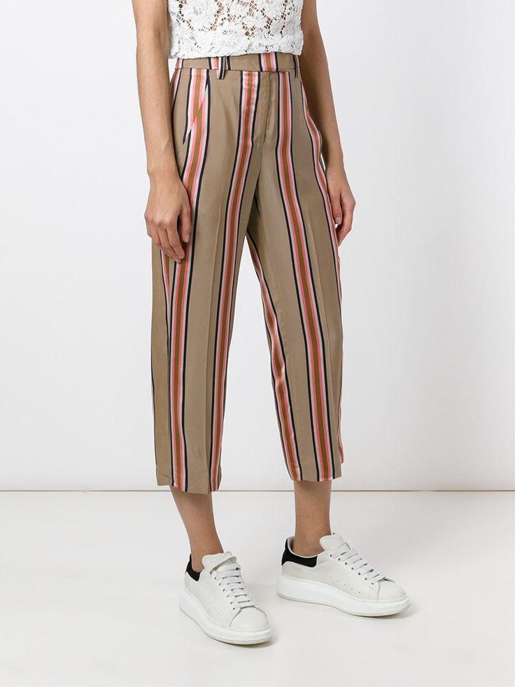 Dondup полосатые брюки 'Ivy'