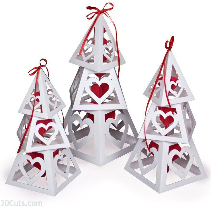 Pin By Marji Roy On Valentine Ideas Christmas Tree Cards