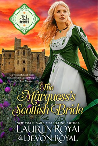 The Marquess's Scottish Bride: A Sweet & Clean Historical Romance (The Chase Brides Book 2)