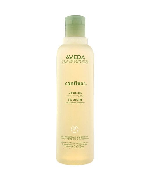 aveda confixor.  great for fine hair to hold curl.